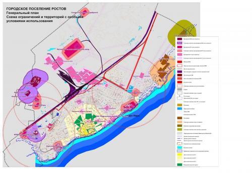 Схема ограничений и территорий с особыми условиями использования